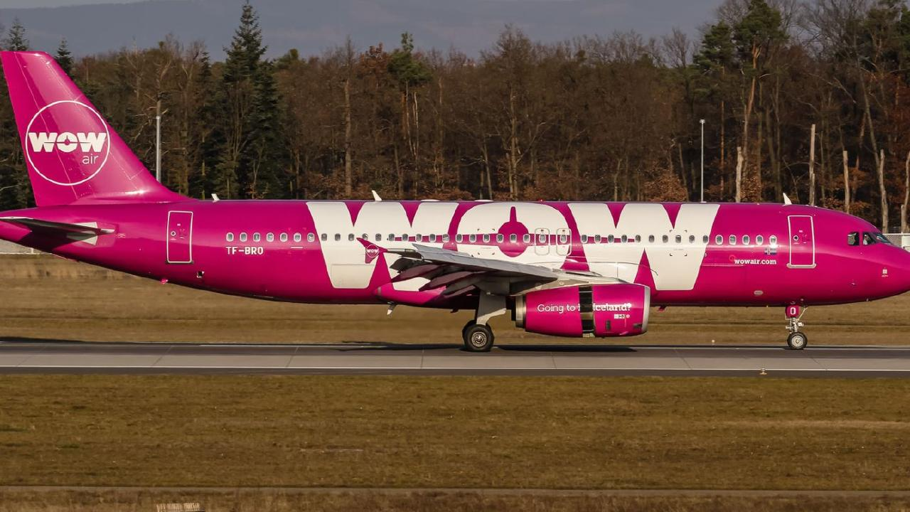 WOW Air staff said the woman's name on the passport did not match the one on her boarding pass. Picture: Oliver Holzbauer