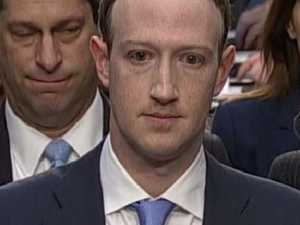 Internet mocks 'alien' Zuckerberg