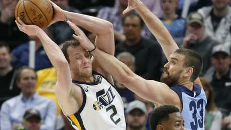 Joe Ingles is one of the Jazz's key players.