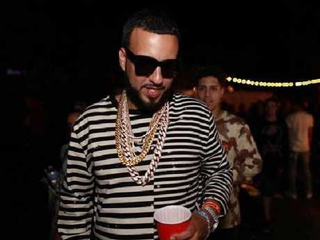 Rapper French Montana partied after Coachella last year.