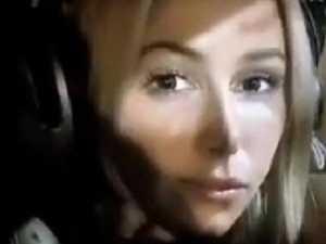 Model posts video before plane crash