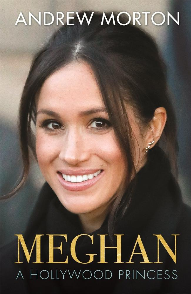 Meghan, A Hollywood Princess by Andrew Morton will be published in Australia on April 19. Picture: AFP