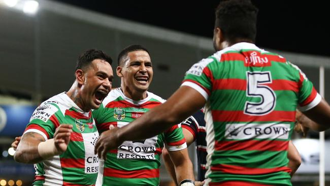 Souths scored a fine win over their old rivals.
