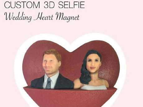 Decorate your fridge with these $55 magnets modelled to look only somewhat similar to the royal couple.