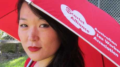 Jules Kim, the chief executive of peak sex workers organisations, the Scarlet Alliance.