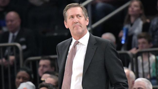 Former New York Knicks head coach Jeff Hornacek.
