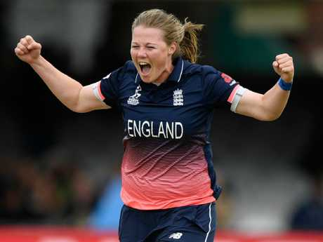 England bowler Anya Shrubsole is on the cover of this year's Wisden Almanack.