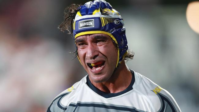 Johnathan Thurston is still recovering from injury. (AAP Image/David Rowland)