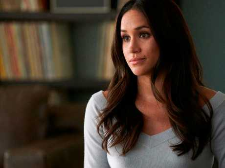 Meghan Markle was earmarked for stardom from a young age, according to old friends and teachers. Picture: Ian Watson/USA Network via AP