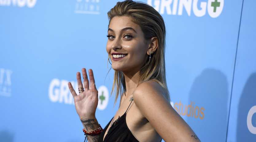Paris Jackson has defended sharing some photoshopped fan art.