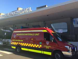 'No danger' to staff, patients after toxic gas leak