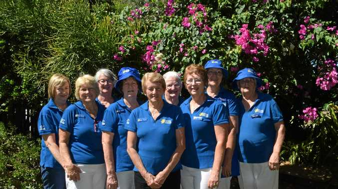 BLOOMING GORGEOUS: Members of the Chinchilla Cancer Council at the Chinchilla Cancer Council Biggest Morning Tea and Garden Day.