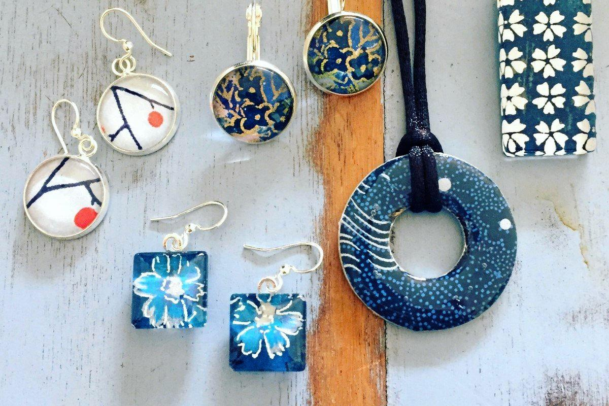 OUT OF THE ORDINARY: Some of the West 4th Studio handmade jewellery designs.