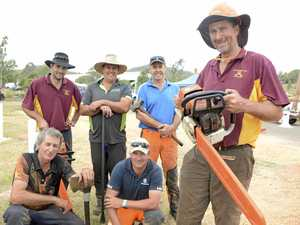 Chainsaw kings wow crowds at Toowoomba Royal Show