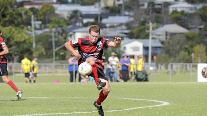 DEVELOPING TALENT: Tucabia-Wooli Bears Rhys Armstrong in action during the FNC 3rd Division grand final against Maclean Bobcats at Rushforth Park, South Grafton, in 2015.