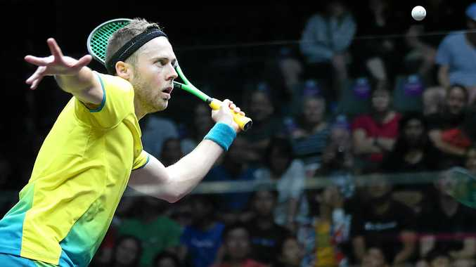Australia's number one ranked squash player Ryan Cuskelly has hit out at the scheduling of the Gold Coast Commonwealth Games.