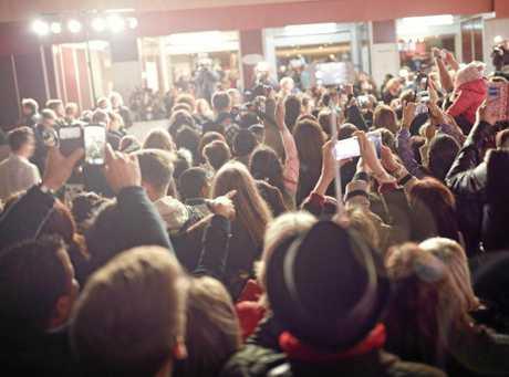 FILM FEST: Crowds enjoying a previous Capricorn Film Festival in Gladstone.