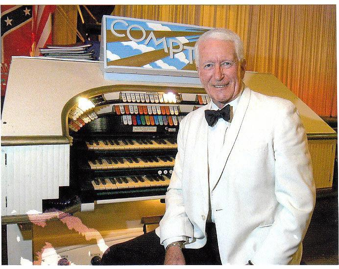 Ron West ready for the Silent Movie show to be held in St Peter's Anglican Church, Maroochydore on Friday, July 29.  Photo Contributed