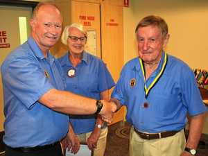Lions club honours Alan's 50-year commitment to community