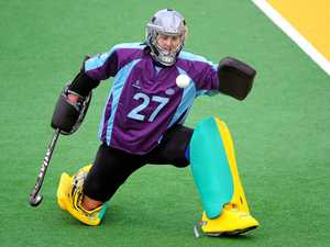 'Head down, bum up', says Hockeyroos keeper