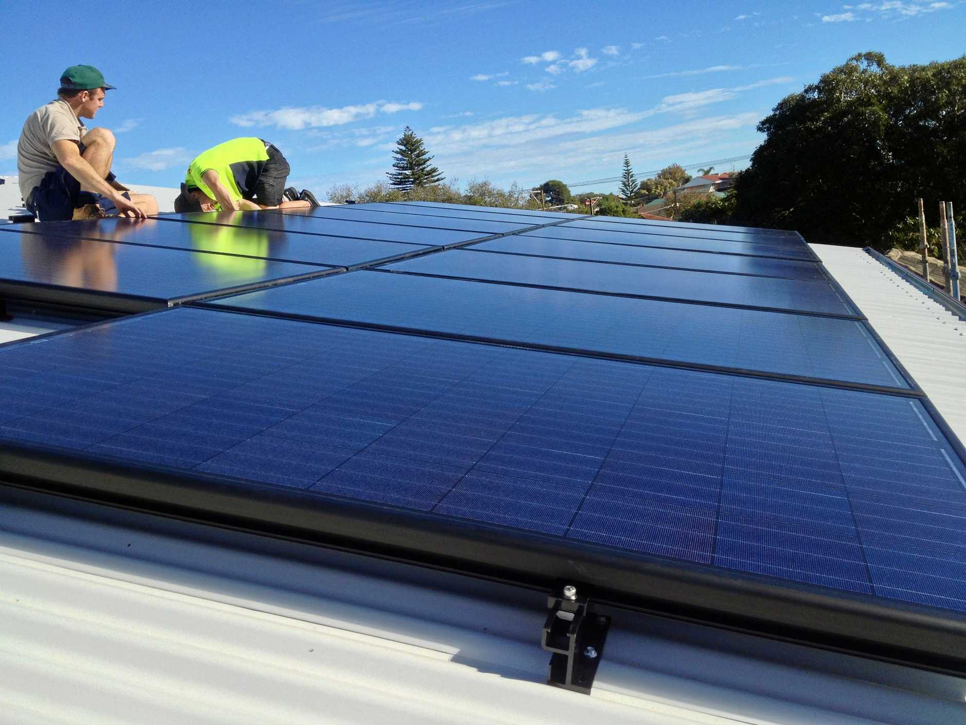 WIN-WIN: Solar Quotes founder Finn Peacock says there is no better financial or environmental investment than Solar power for sunny Queensland homes.