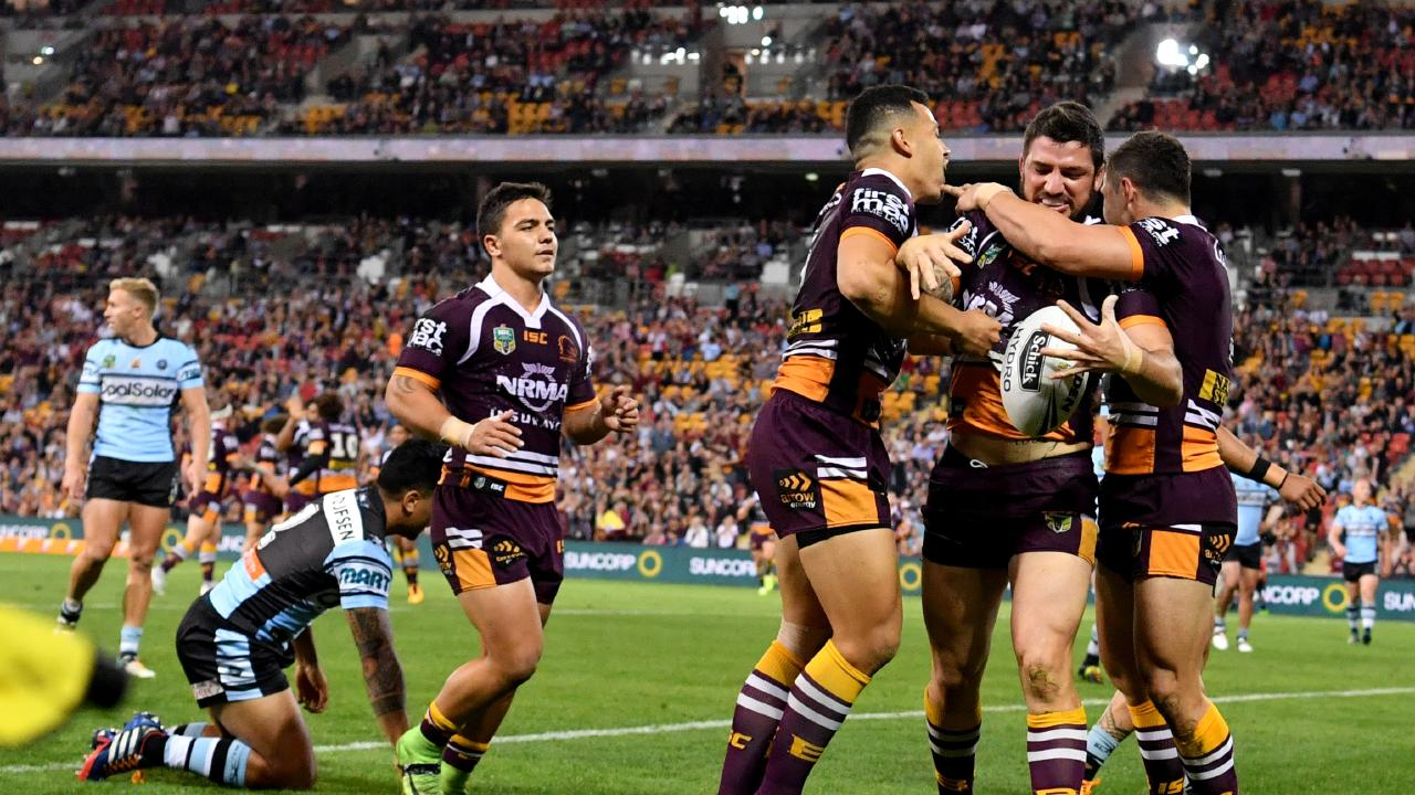 Brisbane's loyal support of the Broncos has been rewarded with a proposed 'Magic Week' at Suncorp Stadium next year. Photo: Darren England