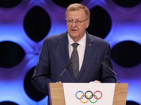 IOC Vice President John Coates steered home the Sydney bid in 1993 through the IOC by a tight margin of 47-45 over Beijing. Picture: Buda Mendes/Getty Images