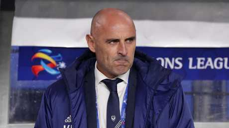 Kevin Muscat says there will be no guard of honour for Sydney FC.