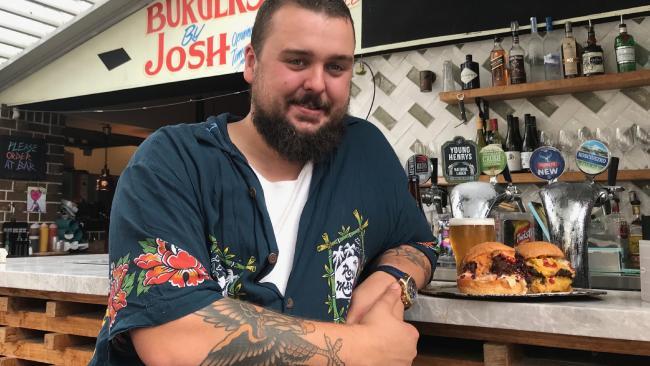 Burgers by Josh owner Josh Arthurs.