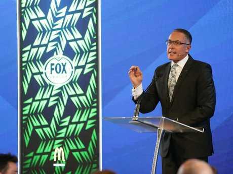 Foxtel CEO Patrick Delaney. Picture: Brett Costello