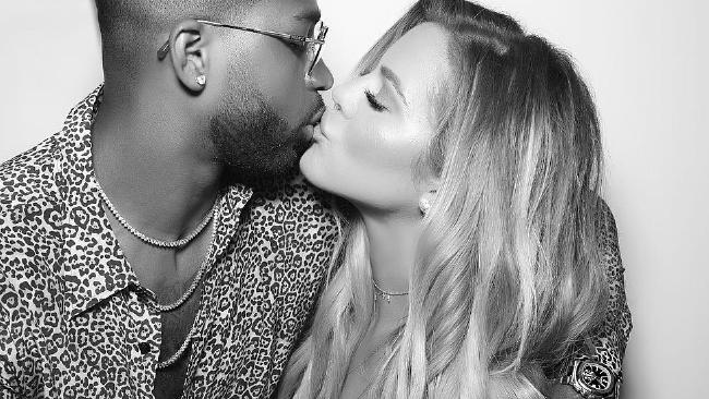 Khloe Kardashian and Tristan Thompson. Picture: Khloe Kardashian/Instagram
