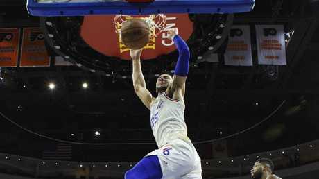 Philadelphia 76ers' Ben Simmons has had a breakout season in the NBA.