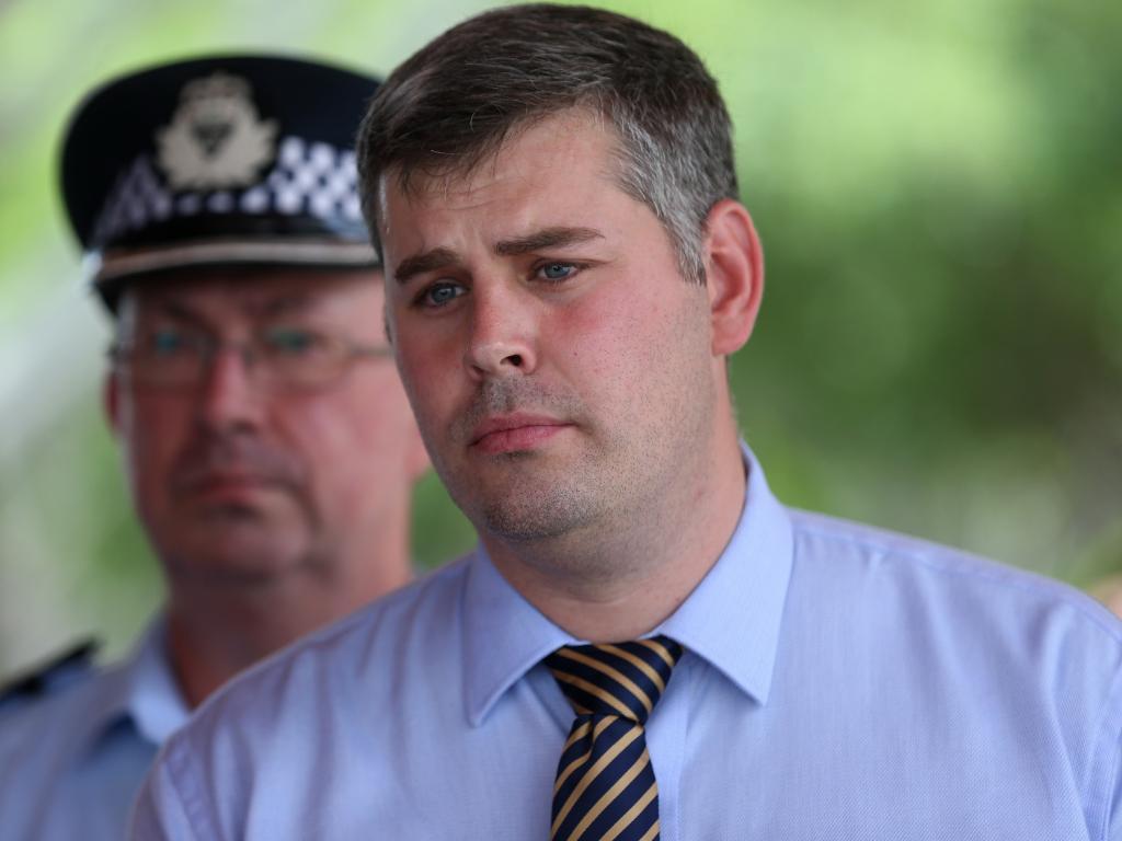 Police Minister Mark Ryan