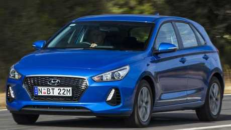 The Hyundai i30 is sharper value than when it launched. Photo by Mark Bean.