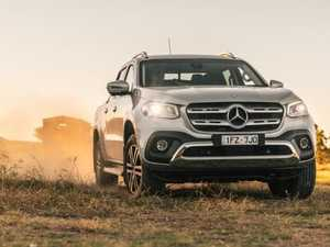 Ute beauty: The tradies' Mercedes