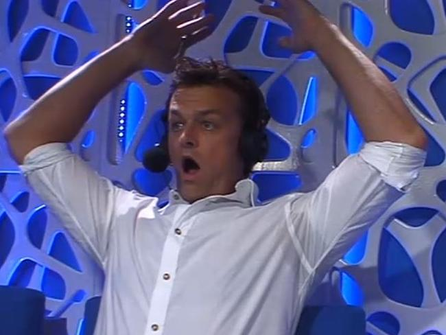 Adam Gilchrist was a fixture of the Big Bash League on Ten. Picture: Fox Sports