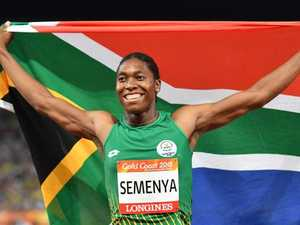 Semenya turns negativity into historic double