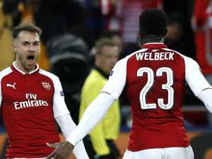 Welbeck rescues Arsenal to end Moscow's Europa miracle
