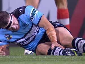 Black Friday for Sharks as injuries strike