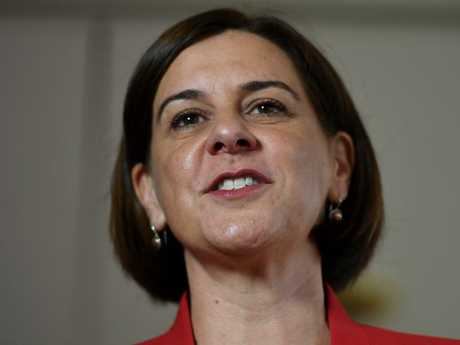State Opposition Leader Deb Frecklington