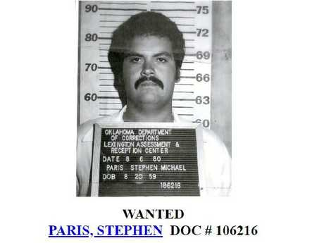 Stephen Paris on the 'Most Wanted' list for decades.
