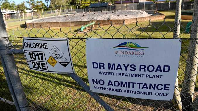 WATER SUPPLY: Chemical contamination in the Dr Mays Rd bore.