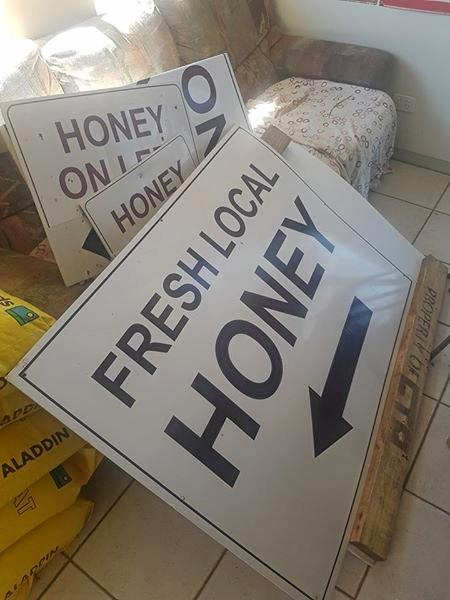 Trevor Sorensen has been forced to shut his honey stand on the New England Highway because of thieves.