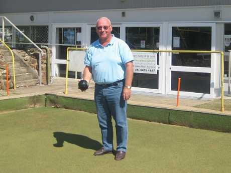 Nambour Bowls Club chairman Ralph Wells.