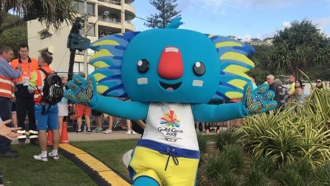 Commonwealth Games Mascot Borobi. Picture: Kirstin Payne