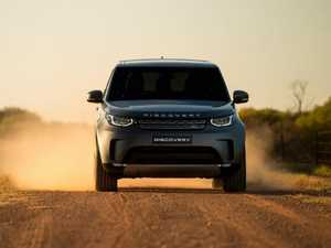 Dare to get dirty in a Land Rover Discovery