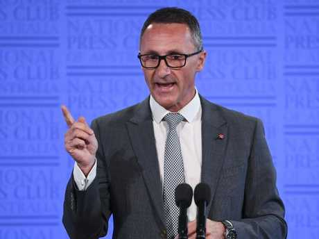 Australian Greens leader Richard Di Natale has concerns about the strikes. Picture: AAP Image/Lukas Coch
