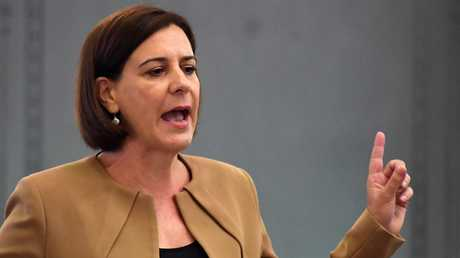 Opposition Leader Deb Frecklington has slammed the proposal as political correctness gone mad. Picture: AAP/Dan Peled