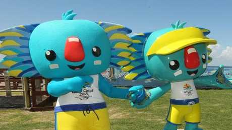 Borobi will make his permanent home on the Gold Coast. Picture Mike Batterham