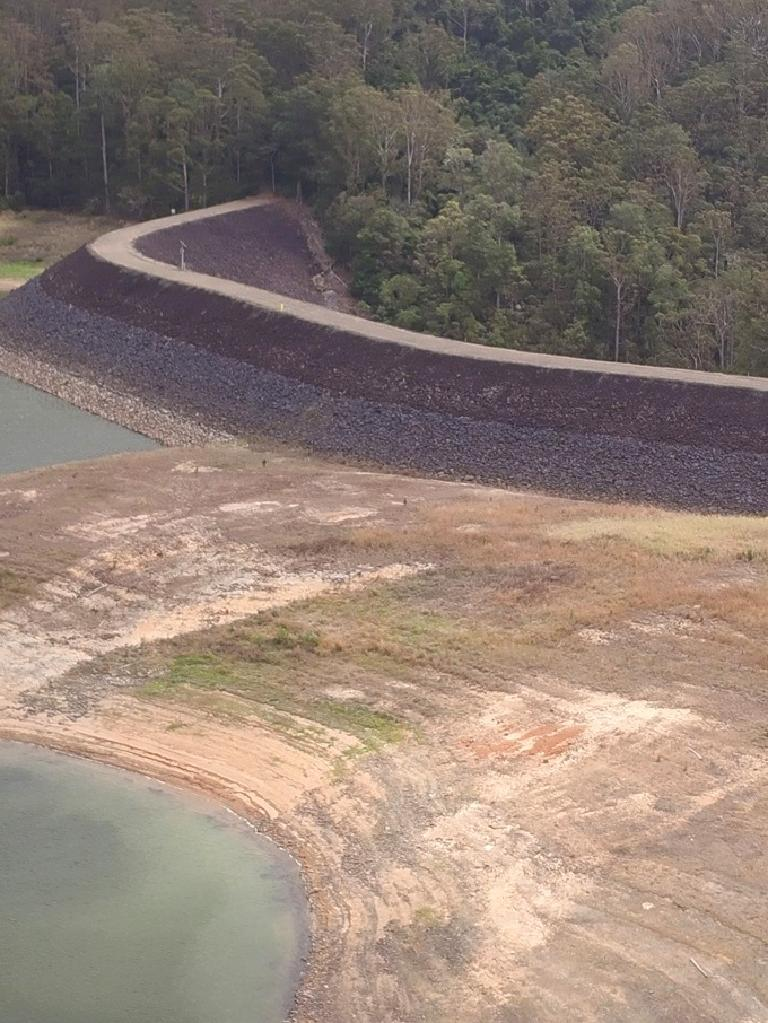 Baroon Pocket Dam at 45 per cent last year.
